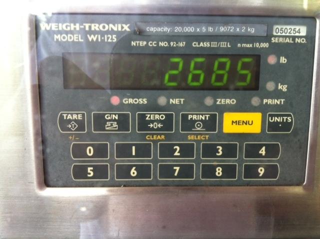 M60b40 weight